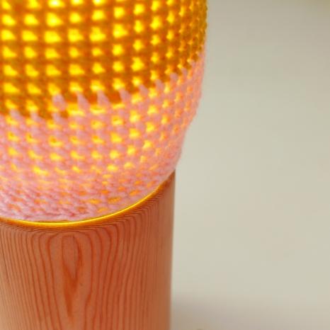 Détail éclairée Lampe n°3